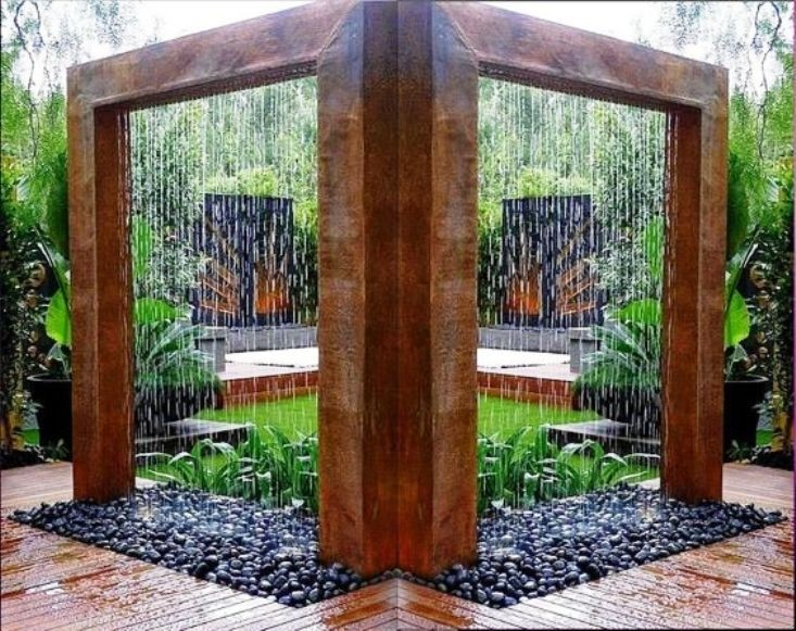 Double Rain Curtain
