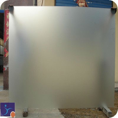 White Frosted Glass