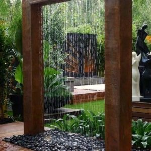 Rain Curtain Custom Fountain